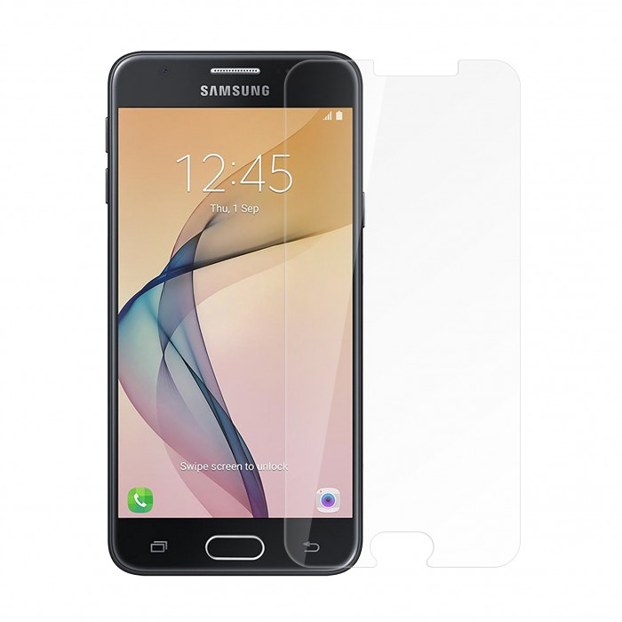 Samsung Galaxy J5 Prime Tempered Glass (HOKO) (Shatter Proof 0.3mm 2.5D Round Edge) Anti Oil Real Tempered Glass With Electroplating Coating