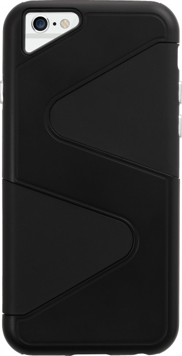 Apple iPhone 6 & iPhone 6s (4.7 Inch) Case (Cubix) Wave Series Case Cover Hybrid Dual Layer Back cover For Apple iPhone 6 & iPhone 6s (4.7 Inch) (Black)