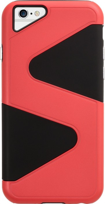 Apple iPhone 6 & iPhone 6s (4.7 Inch) Case (Cubix) Wave Series Case Cover Hybrid Dual Layer Back cover For Apple iPhone 6 & iPhone 6s (4.7 Inch) (Red)