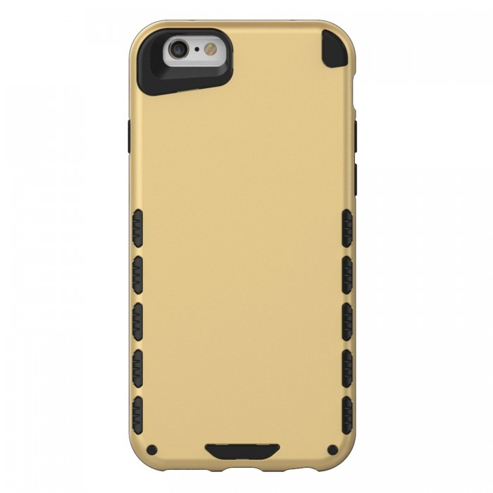 iPhone 6s Case (Cubix) Armor Robot Cover [Anti Scratch] Slim-Fit Two Layer Defender Bumper Back cover For Apple iPhone 6 & iPhone 6s (4.7 Inch) (Gold)