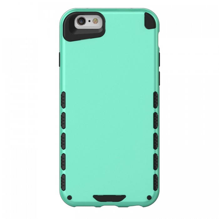 iPhone 6s Case (Cubix) Armor Robot Cover [Anti Scratch] Slim-Fit Two Layer Defender Bumper Back cover For Apple iPhone 6 & iPhone 6s (4.7 Inch) (Sea Green)