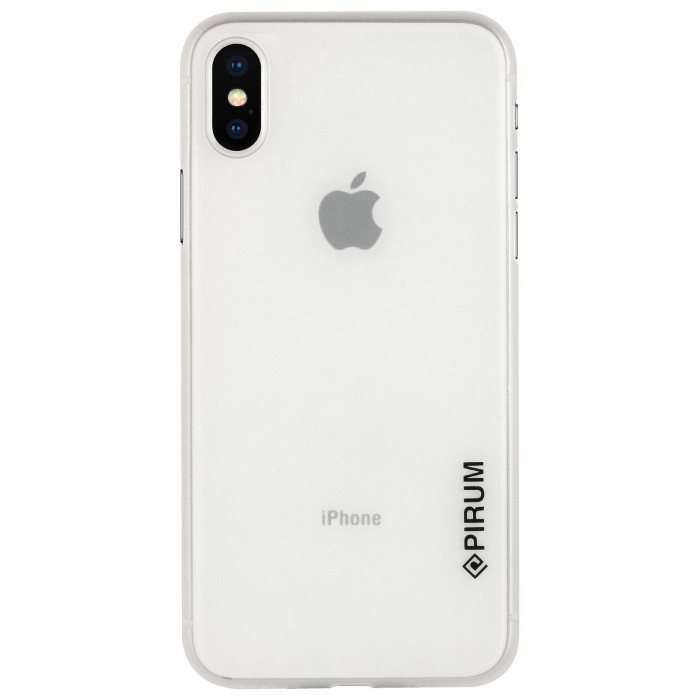 Apple iPhone X & iPhone XS (5.8 Inch) Case Cover : Pirum True Air Series Ultra Thin Matte Case Back Cover for Apple iPhone X & iPhone XS (5.8 Inch) (White)