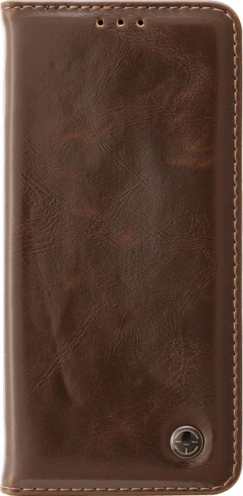 CUBIX Leather Case for Samsung Galaxy Note 9 Classic Leather Wallet Cases Slim Folio Book Cover with Credit Card Slots, Cash Pocket, Stand Holder, Magnet Closure (Brown)