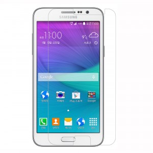 Galaxy Grand Max Screen protector, Scratch Guard, VEEGEE Samsung Galaxy Grand Max (Full Screen) Anti-Shock Screen Protector Scratch Guard Shatter proof (10 Times More Strong Than Tempered Glass)