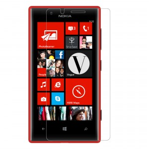 Lumia 720 Screen protector, Scratch Guard, VEEGEE Nokia Lumia 720 (Full Screen) Anti-Shock Screen Protector Scratch Guard Shatter proof (10 Times More Strong Than Tempered Glass)