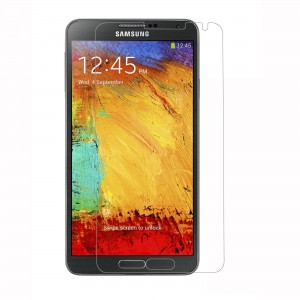 Galaxy Note 3 Screen protector Scratch Guard VEEGEE Samsung Galaxy Note 3, Note 3 N9000, Note 3 N9002, Note 3 N9005 (Full Screen) Anti-Shock Screen Protector Scratch Guard Shatter proof (10 Times More Strong Than Tempered Glass)
