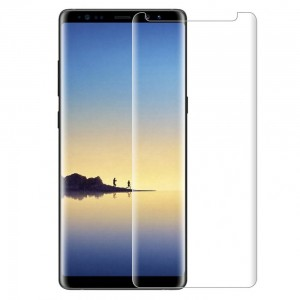 Samsung Galaxy Note 8 Full Screen Tempered Glass (HOKO) (Shatter Proof 0.3mm 2.5D Round Edge) Anti Oil Real Full Screen Tempered Glass With Electroplating Coating