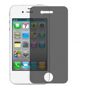 Hoko Apple iPhone 4, iPhone 4s Privacy Screen Protector Anti-Spy Anti-Fingerprint Bubble Free, Scratch Resistance