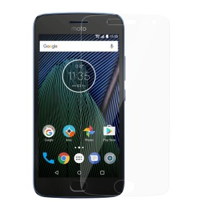 Motorola Moto G5 Plus Tempered Glass (HOKO) (Shatter Proof 0.3mm 2.5D Round Edge) Anti Oil Real Tempered Glass With Electroplating Coating