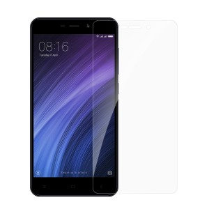 Xiaomi Mi Redmi 4A Tempered Glass (HOKO) (Shatter Proof 0.3mm 2.5D Round Edge) Anti Oil Real Tempered Glass With Electroplating Coating
