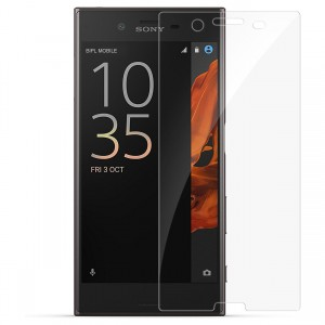 Sony Xperia XZ Premium Tempered Glass (HOKO) (Shatter Proof 0.3mm 2.5D Round Edge) Anti Oil Real Tempered Glass With Electroplating Coating