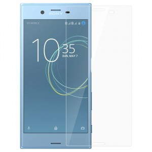 Sony Xperia XZ, Xperia XZs Tempered Glass (HOKO) (Shatter Proof 0.3mm 2.5D Round Edge) Anti Oil Real Tempered Glass With Electroplating Coating