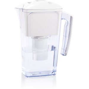 Dr. Domum Wellblue Alkaline Water Pitcher 2.5L Mineral Water ionized Water PITCHER water ionizer PH10 water (2.5 Liter) (White)