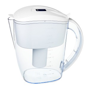 Dr. Domum Wellblue Alkaline Water Pitcher 3.5L Mineral Water ionized Water PITCHER water ionizer PH10 water (3.5 Liter) (White)