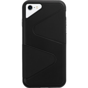 Apple iPhone 7, Apple iPhone 8 Case (Cubix) Wave Series Case Cover Hybrid Dual Layer Back cover For Apple iPhone 7, Apple iPhone 8 (Black)