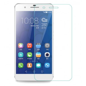 Huawei Honor 6 PLUS Tempered Glass (HOKO) (Shatter Proof 0.3mm 2.5D Round Edge) Anti Oil Real Tempered Glass With Electroplating Coating
