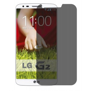 Hoko LG G2, LG G2 D802, LG G2 D802T Privacy Screen Protector Anti-Spy Anti-Fingerprint Bubble Free, Scratch Resistance