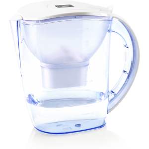 Dr. Domum Wellblue Alkaline Water Pitcher 3.5L Mineral Water ionized Water PITCHER water ionizer PH10 water (3.5 Liter) (White) (Brita Maxtra Water filter Cartridges Compatible)