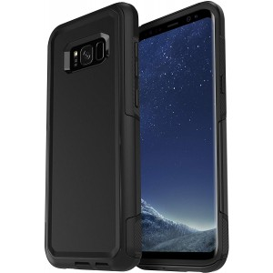 Cubix DEFENDER SERIES Case for Samsung Galaxy S8 plus / Galaxy S8+ - BLACK 360 Degree Case Protects Front and Back