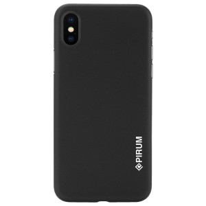 Apple Iphone X Case Cover : Pirum True Air Series Ultra Thin Matte Case Back Cover for Apple Iphone X (Black)