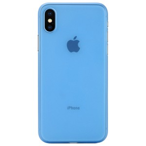 Apple Iphone X Case Cover : Pirum True Air Series Ultra Thin Matte Case Back Cover for Apple Iphone X (Blue)