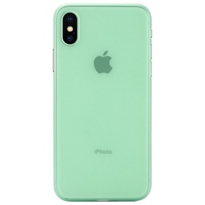 Apple Iphone X Case Cover : Pirum True Air Series Ultra Thin Matte Case Back Cover for Apple Iphone X (Green)