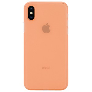 Apple Iphone X Case Cover : Pirum True Air Series Ultra Thin Matte Case Back Cover for Apple Iphone X (Orange)