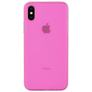 Apple Iphone X Case Cover : Pirum True Air Series Ultra Thin Matte Case Back Cover for Apple Iphone X (Pink)