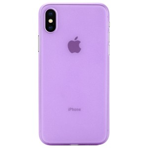 Apple Iphone X Case Cover : Pirum True Air Series Ultra Thin Matte Case Back Cover for Apple Iphone X (Purple)