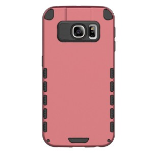 S6 Edge+ Case (Cubix) Armor Robot Cover [Anti Scratch] Slim-Fit Two Layer Defender Bumper Back cover For Samsung Galaxy S6 EDGE+, Galaxy S6 Edge Plus (Brick)