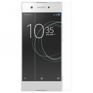 sony Xperia XA1 Tempered Glass (HOKO) (Shatter Proof 0.3mm 2.5D Round Edge) Anti Oil Real Tempered Glass With Electroplating Coating