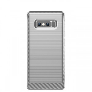 Cubix [Onyx] [Resilient Strength] Flexible Durability, Durable Anti-Slip, TPU Defensive Case for Samsung Galaxy Note 8 - Grey